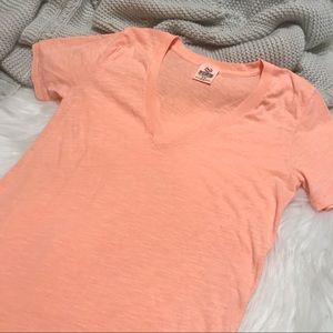 VS PINK V-Neck T-Shirt Tee S